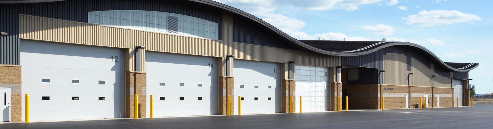 commercial garage doors provider